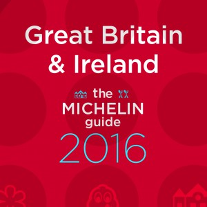 La guía MICHELIN Great Britain & Ireland 2016