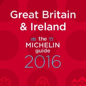 La guía MICHELIN Great Britain & Ireland 2016